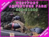 <h5>Hen Activities Mayo</h5><p>Hen party group doing some hen activities in Westport Adventure Park</p>
