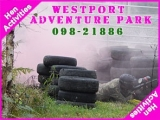 <h5>Stag and Hen activities Westport</h5><p>Hen party groups doing some Hen activities in Westport Adventure Park</p>