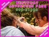 <h5>Hen Party Activities Ideas Ireland</h5><p>Hen party group doing some hen activities in Westport Adventure Park</p>