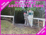 <h5>Mayo Stag and Hen Activities</h5><p>Stag and Hen party groups doing some Stag and Hen activities in Westport Adventure Park</p>