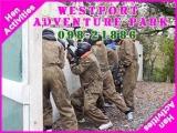 <h5>Irish Hen Activities Ireland</h5><p>Hen party group doing some hen activities in Westport Adventure Park</p>