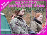 <h5>Stag and Hen Activities Mayo</h5><p>Stag and Hen party groups doing some Stag and Hen activities in Westport Adventure Park</p>