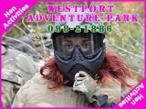 <h5>Hen Party Activities Westport Ireland</h5><p>Hen party group doing some hen activities in Westport Adventure Park</p>
