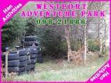 <h5>Westport Hen Party Activities</h5><p>Hen party group doing some hen activities in Westport Adventure Park</p>