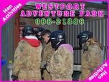 <h5>Stag and Hen Activities Westport</h5><p>Stag and Hen party groups doing some Stag and Hen activities in Westport Adventure Park</p>