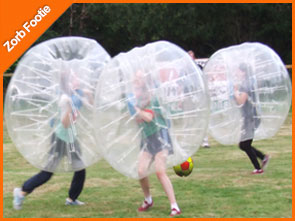 Zorb Footie the number 1 Thing to do in Westport Co. Mayo Ireland 098-21886